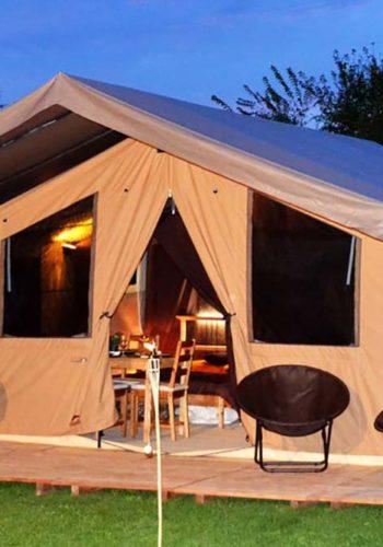 Tentes de Camping Cabanon - le bonheur pour les vacances...