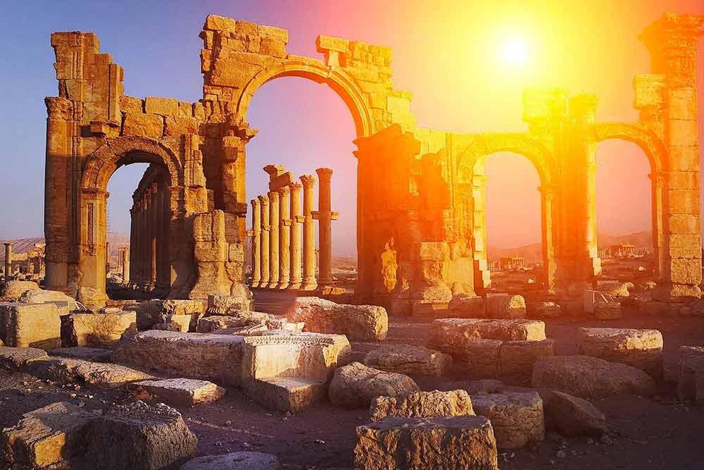 Temple Grec en ruine