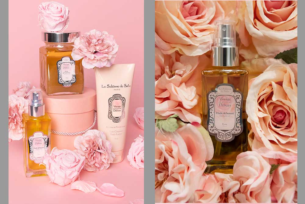 Flower Power - Huile de Beauté Rose