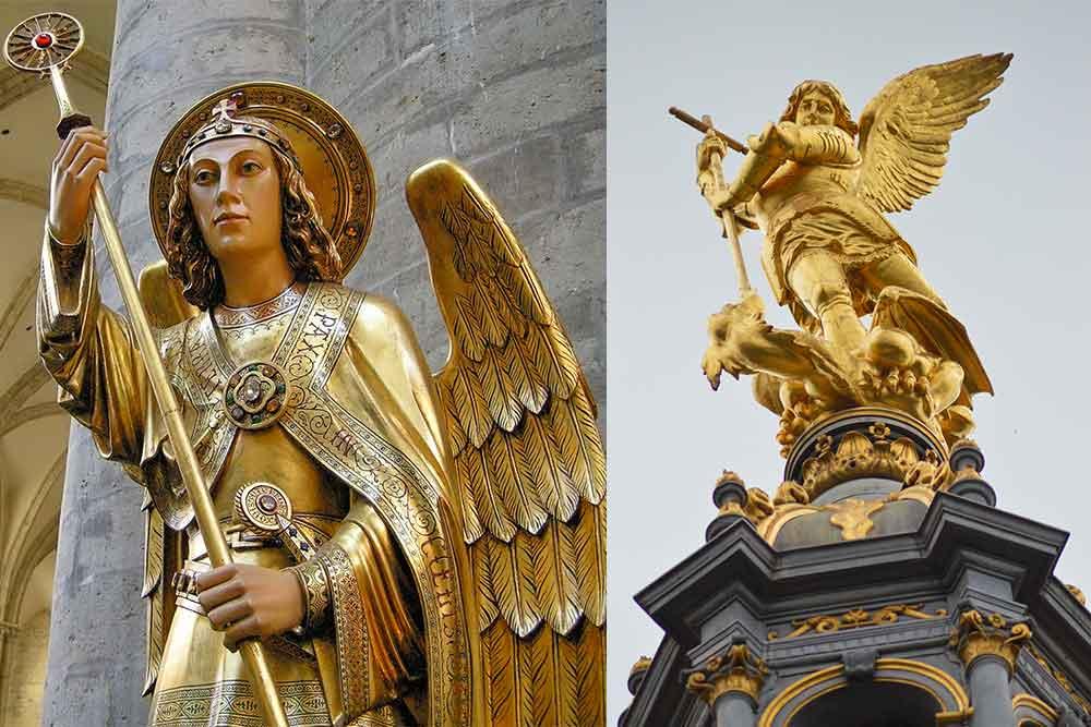 Archange Gabriel - c'est lui qui a demandé la construction de l'Abbaye du Mont-Saint-Michel