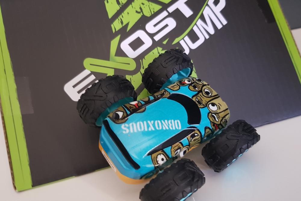 Exost Jump : six mini-bolides à friction pour défier les lois de la gravité !