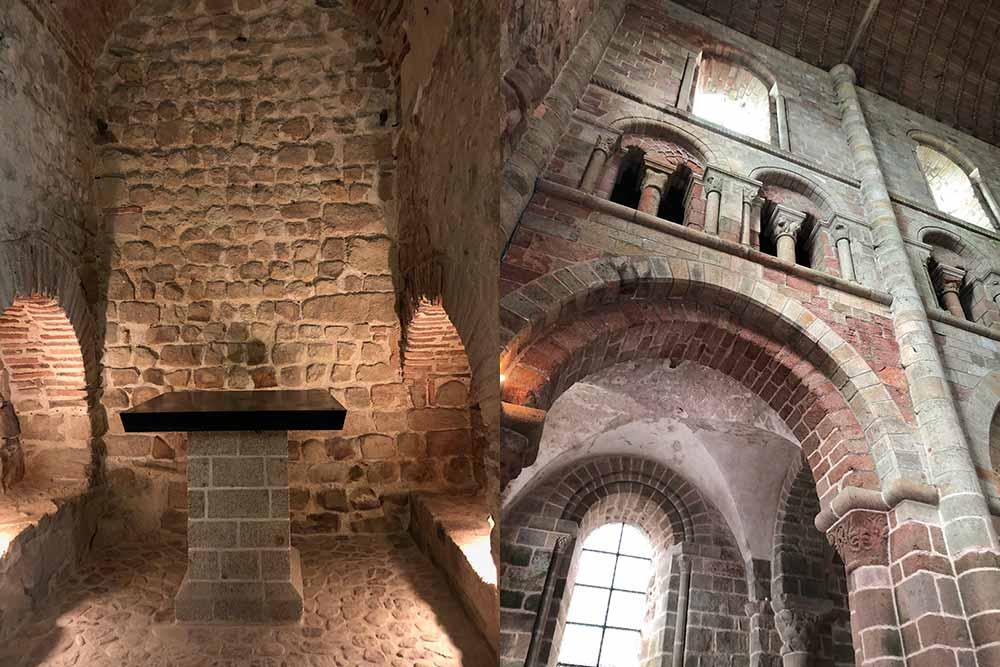 Abbaye : un des anciens hôtel situé sur l'abbaye et détails de la structure