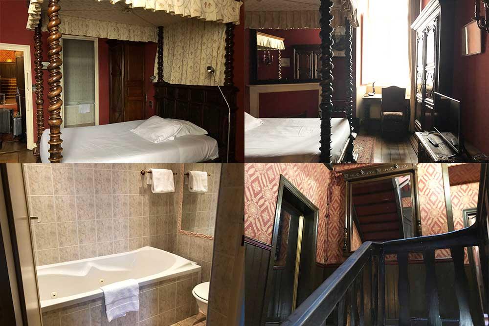 Best Western Hotel Montgomery - la chambre que j'ai occupée. C'est la seule qui soit d'époque. Les autres sont modernes.