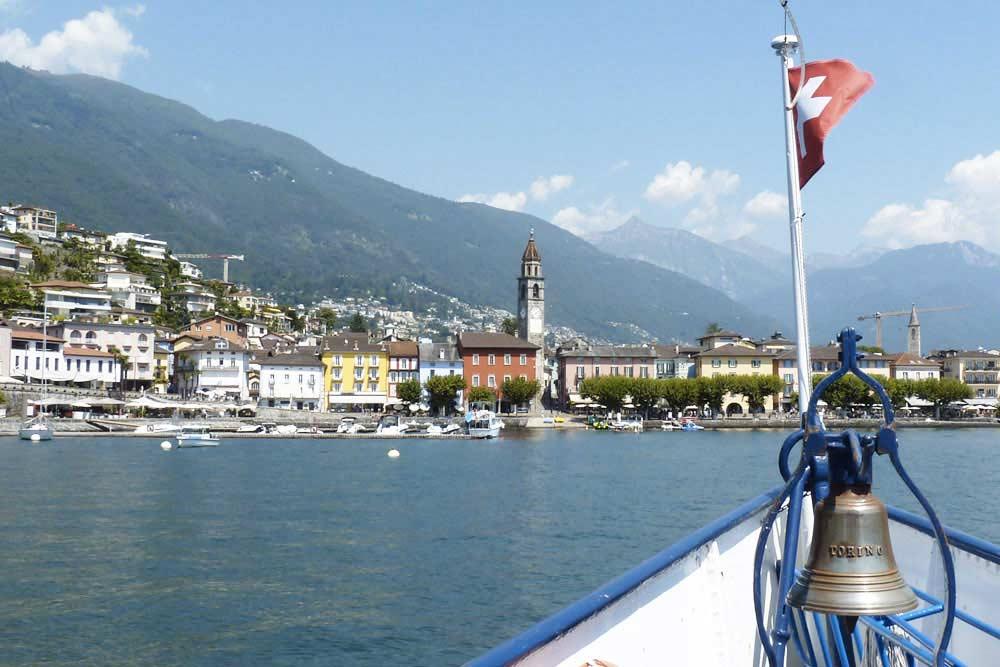 Suisse - Ascona et le lac Majeur