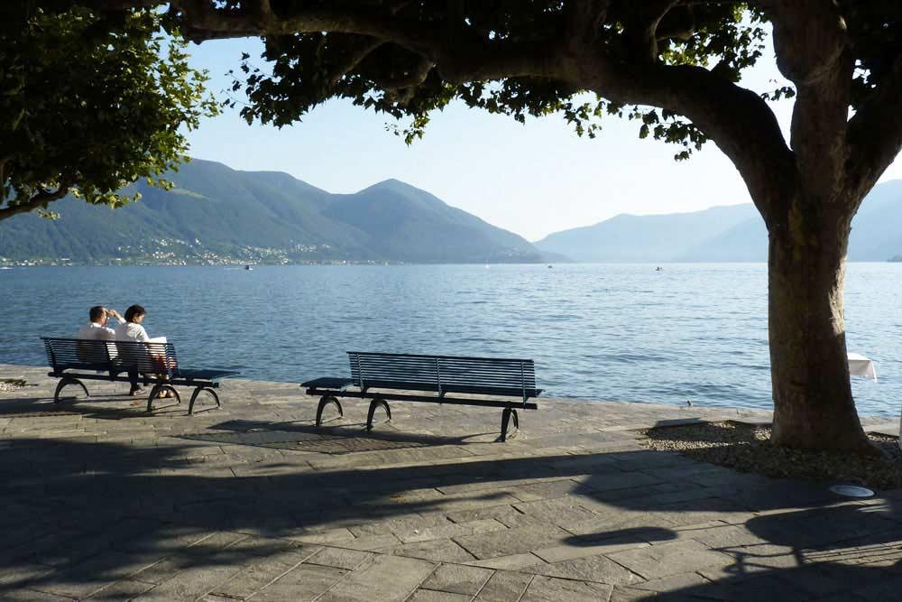 Suisse - Ascona, au bord du lac Majeur