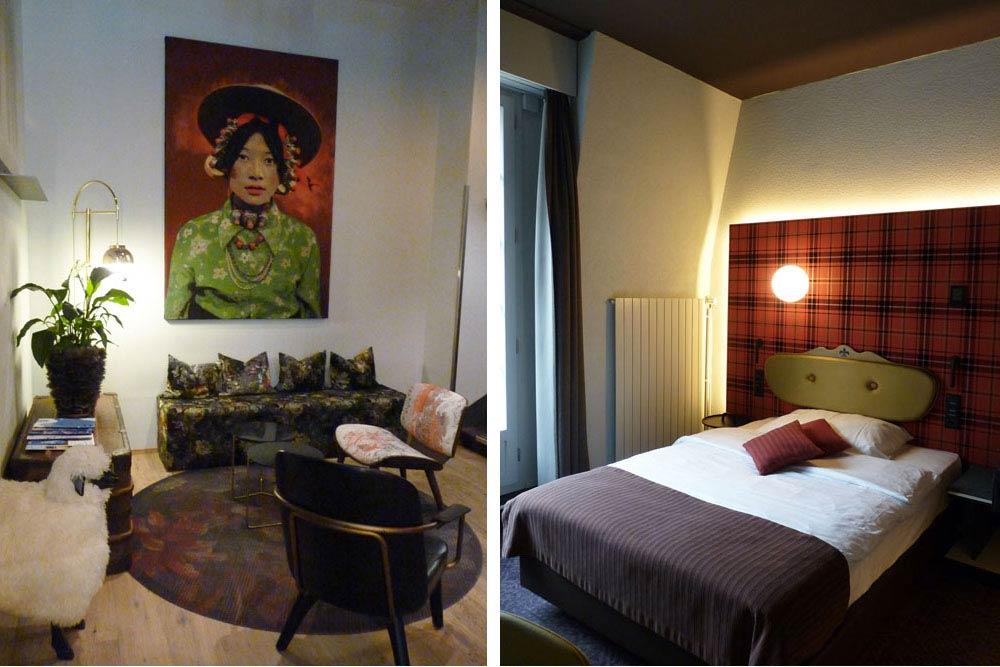 Hôtel Bristol: entrée et chambre