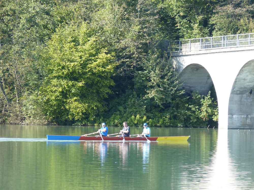 Canoe sur la rivière Aar