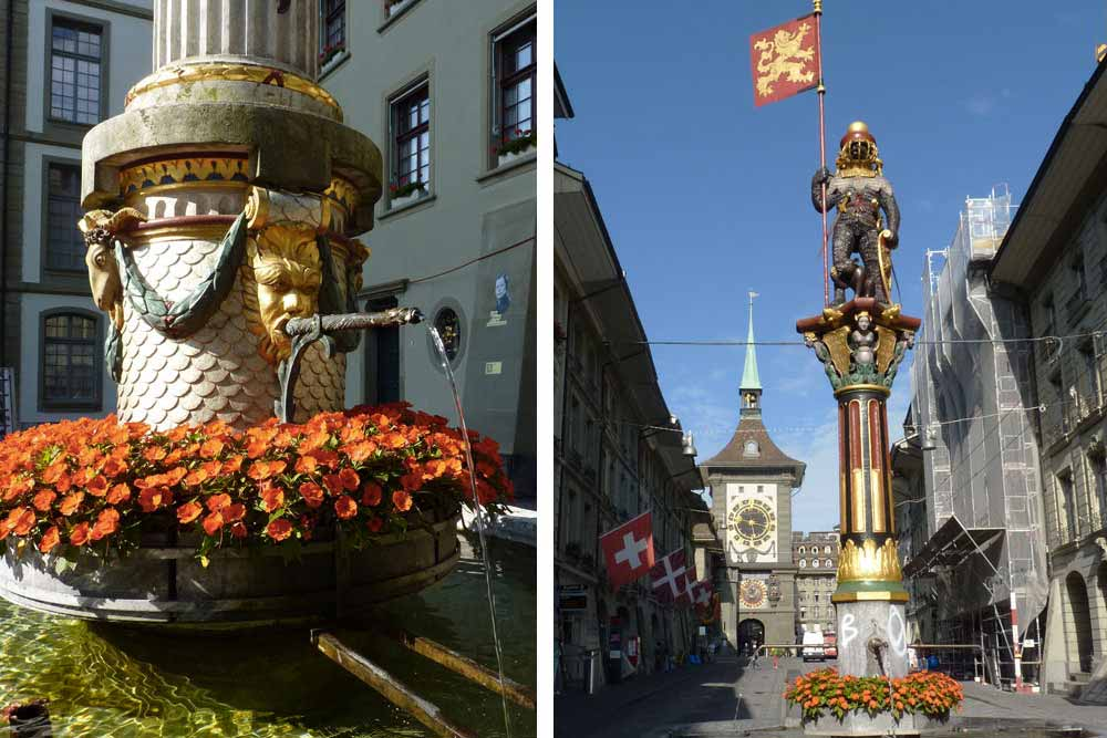 Fontaines historiques