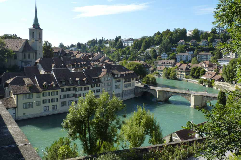 Suisse - Vue de Berne