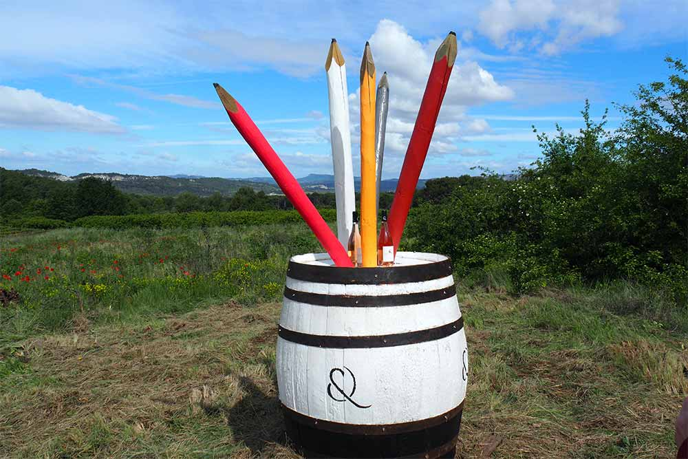 Le Fût à Crayons