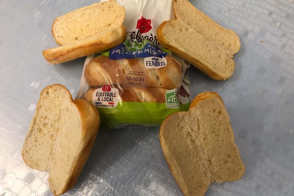 La Boulangère - des petits pain malins pour les petits creux