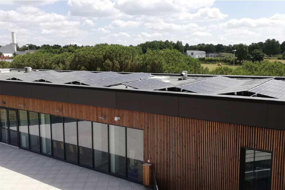 Des panneaux photovoltaïques pour produire l'électricité