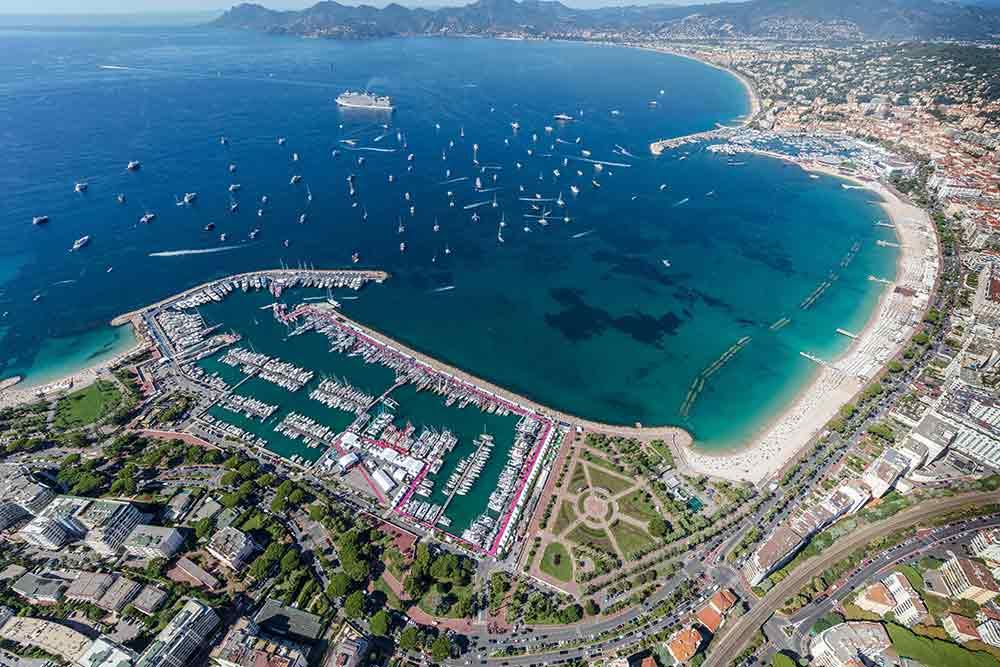 Le Port Canto et le Vieux-Port de Cannes