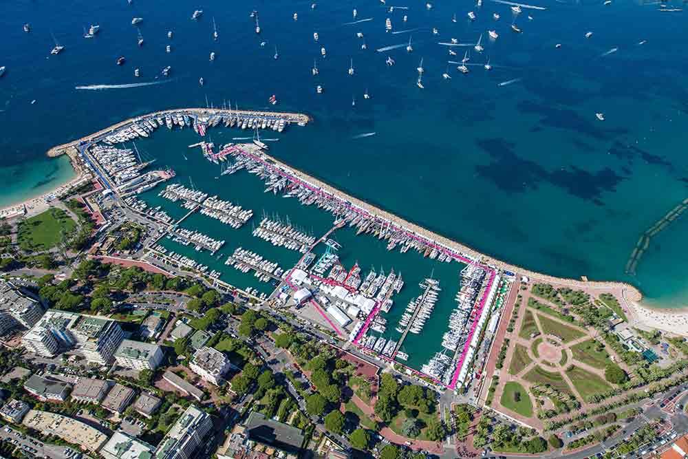 Port Canto de Cannes