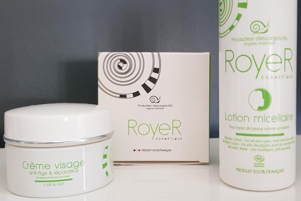 RoyeR Cosmétique : des soins à la bave d'escargot pour le rituel beauté du visage