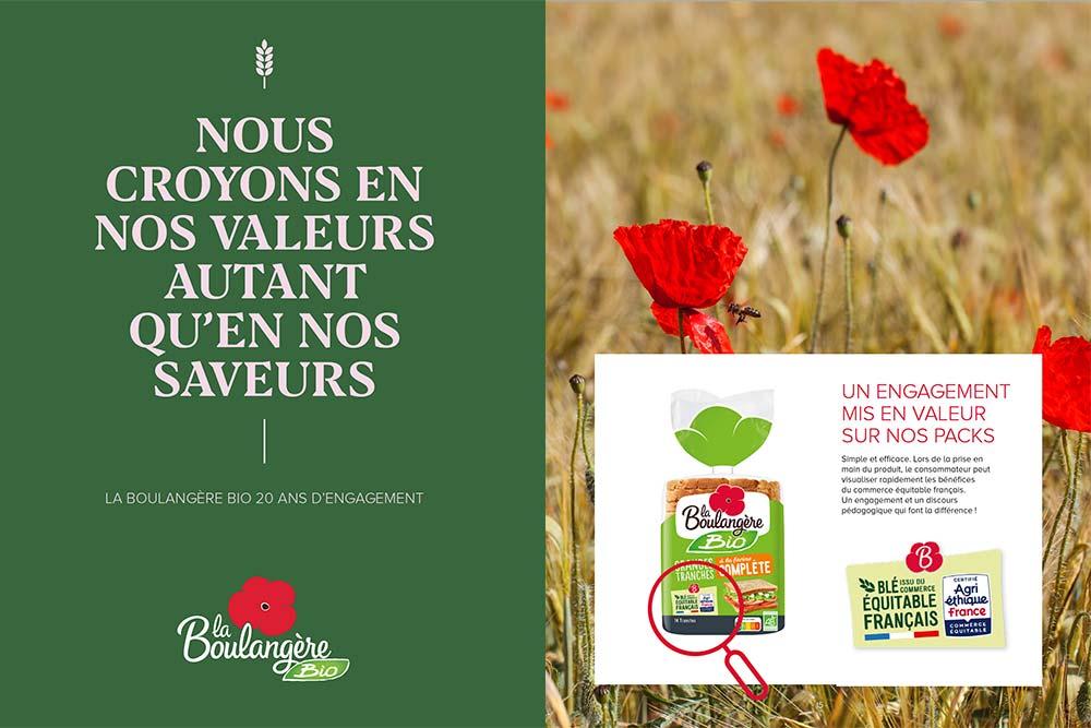 La Boulangère - des produits bio qui vont vous enchanter